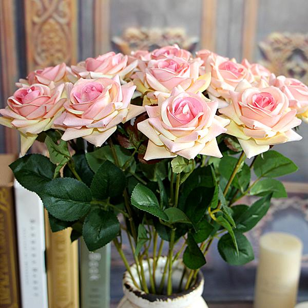 3PCS-Pink-Velvet-Rose-Spring-Artificial-Fake-Peony-Flower-Arrangement-Bouquet-Wedding-Hydrangea-Decor