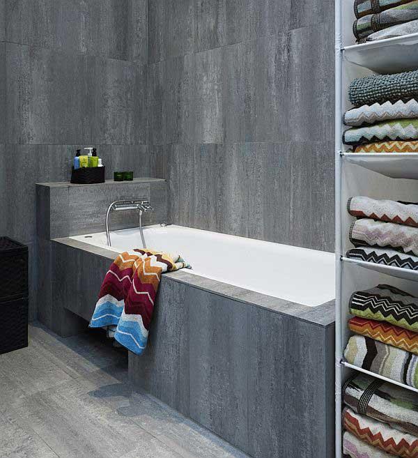 Awesome-Concrete-Bathroom-Design-for-Bright-Studio-Apartment