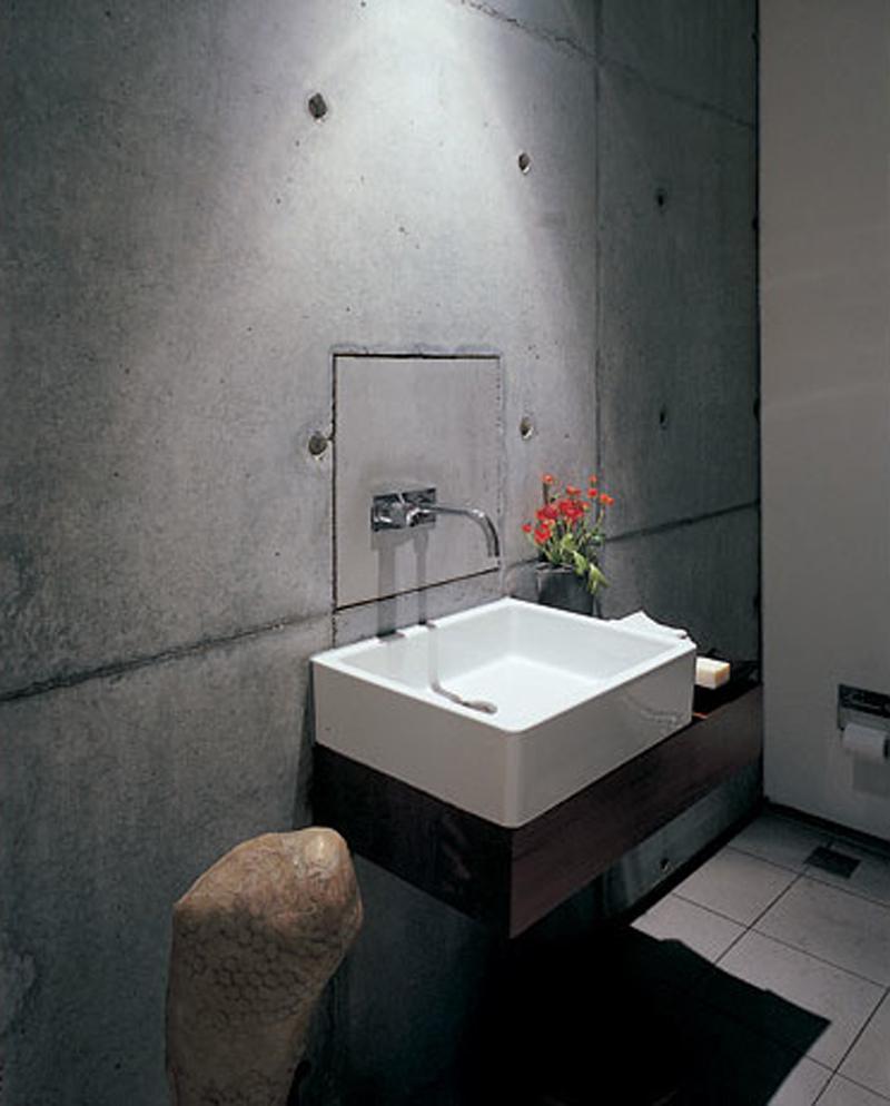 Awesome-Eco-Friendly-Bathroom-Design-Of-Endless-Concrete-