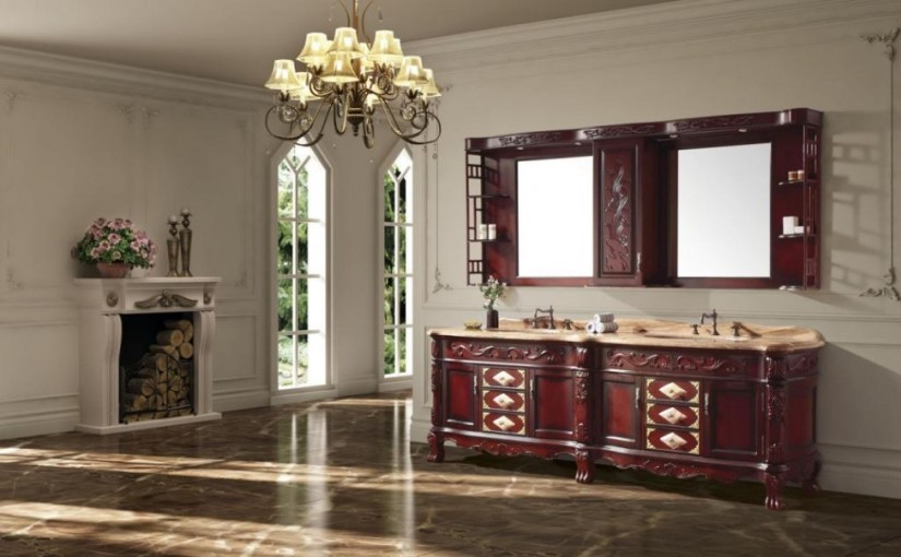 Classic-bathroom-cabinets-ideas-in-elegant-bathroom-design