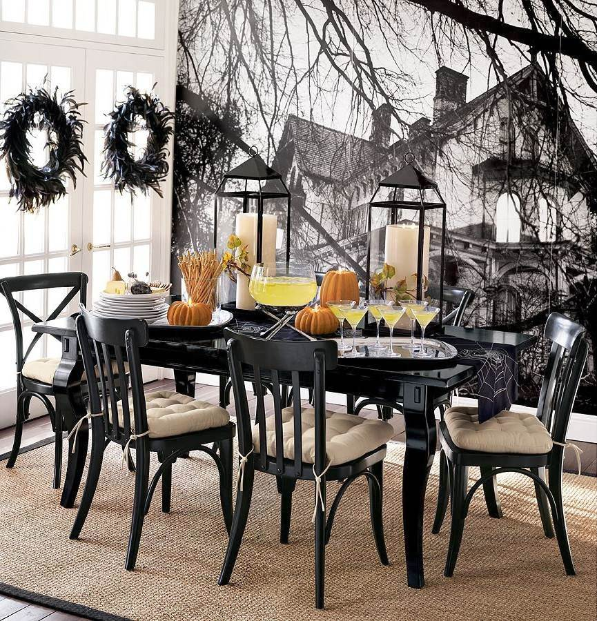 Halloween-Home-Decor-Ideas-For-Dining-Room