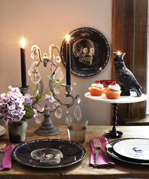 Halloween-Home-Decor-Ideas-For-Tableware