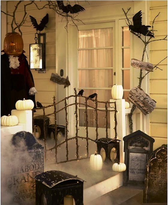 Halloween-Home-Decorating-Ideas-Like-Ghost-House