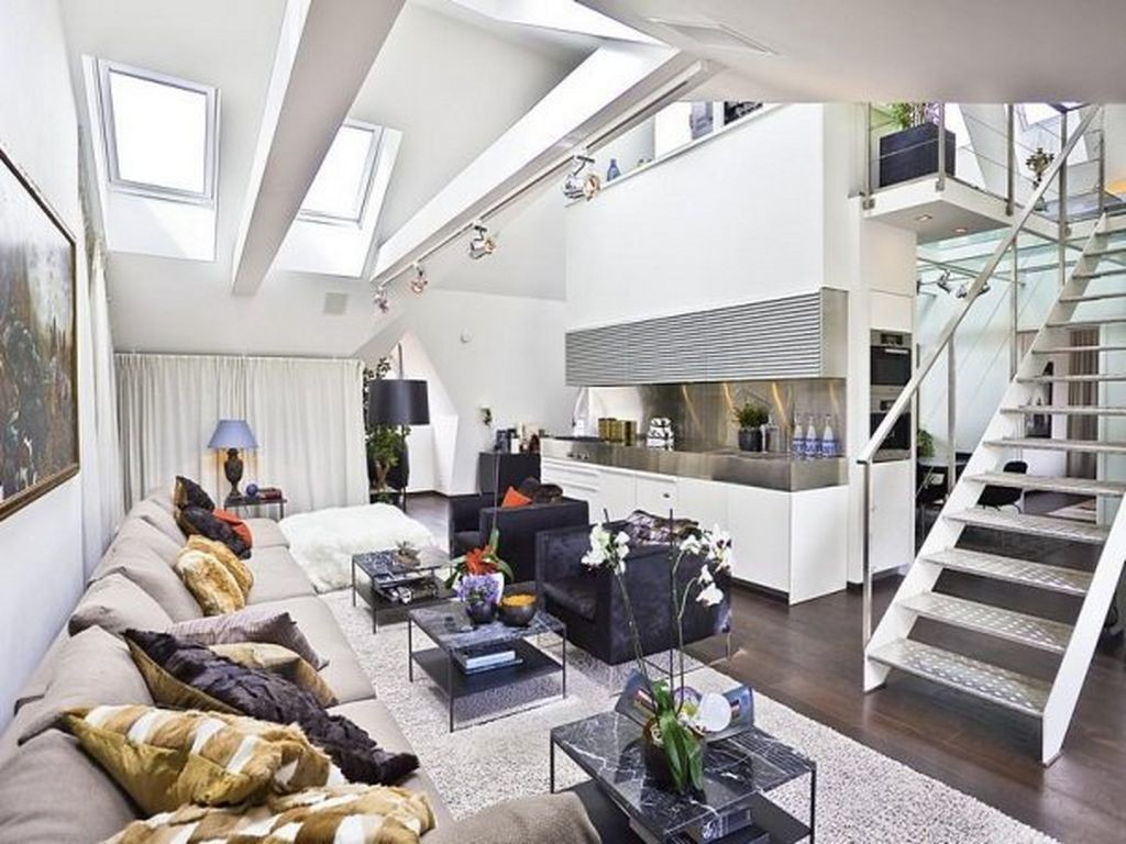 Ideas-of-loft-apartment-living-room-