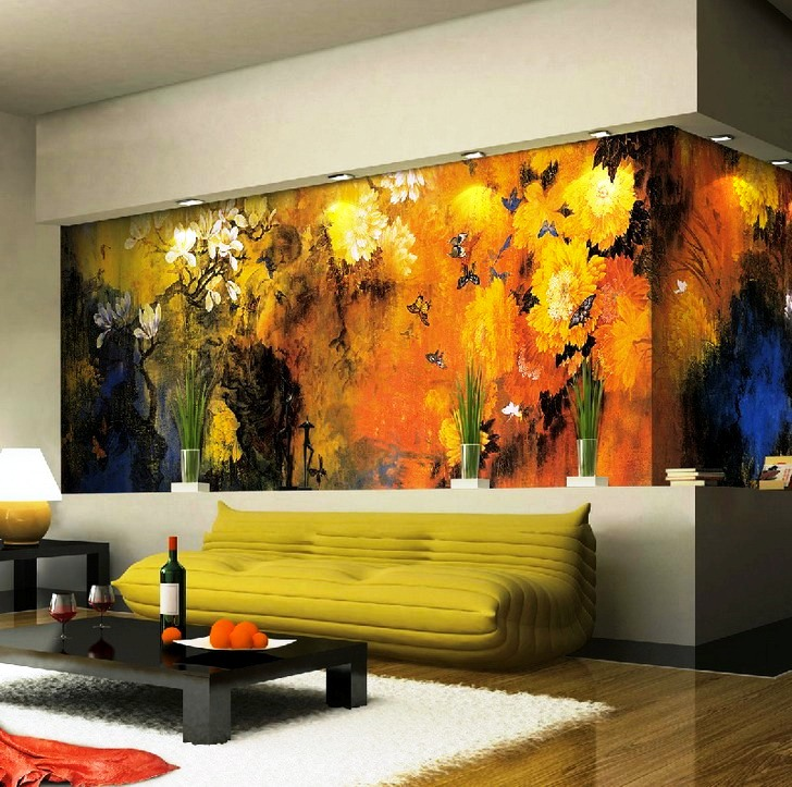 Nature-Living-Room-Canvas-Wall-Murals