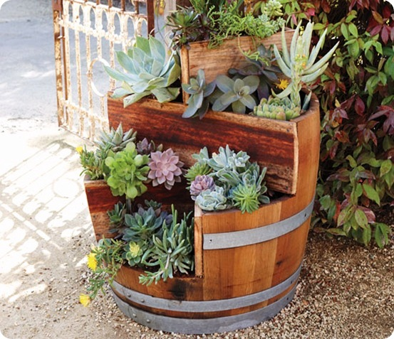 Recycled-Wine-Barrel-Planter