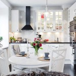 23 Beautiful White Scandinavian Kitchen Designs
