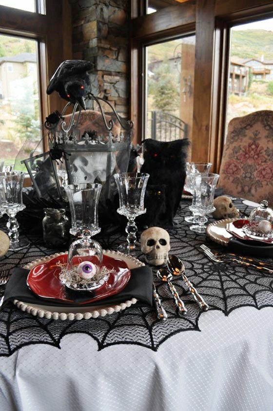 Tableware-Halloween-Home-Decorating-Ideas