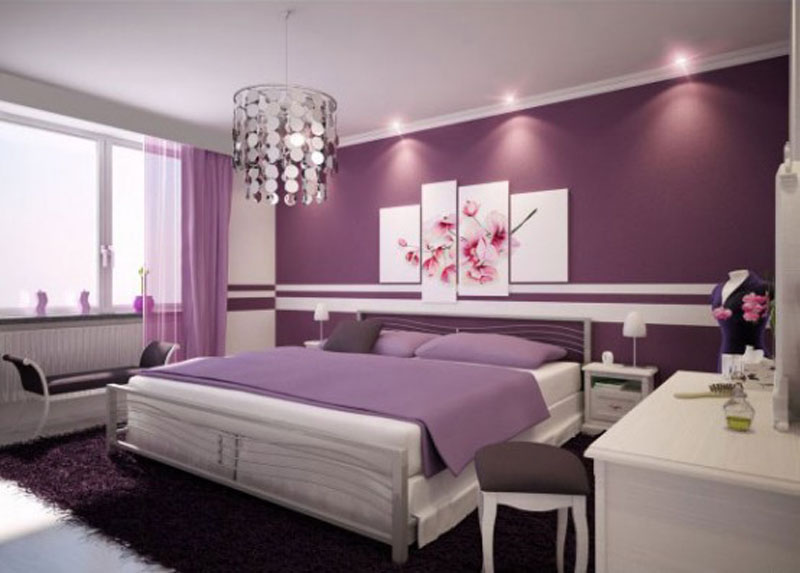 The-bedroom-with-violet-color-for-glamorous-impressions