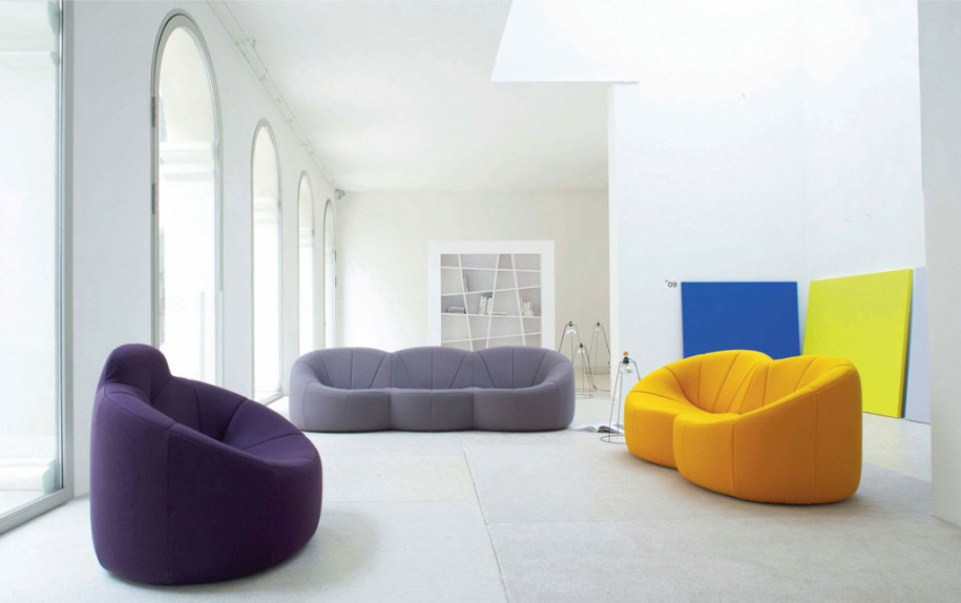Unique Colorful Living Room Sofas