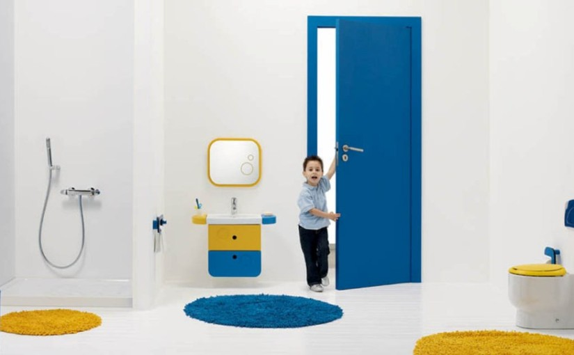 Antique Ultramodern Kids Colorful Bathroom Design   Bathroom Design Ideas  For Kids