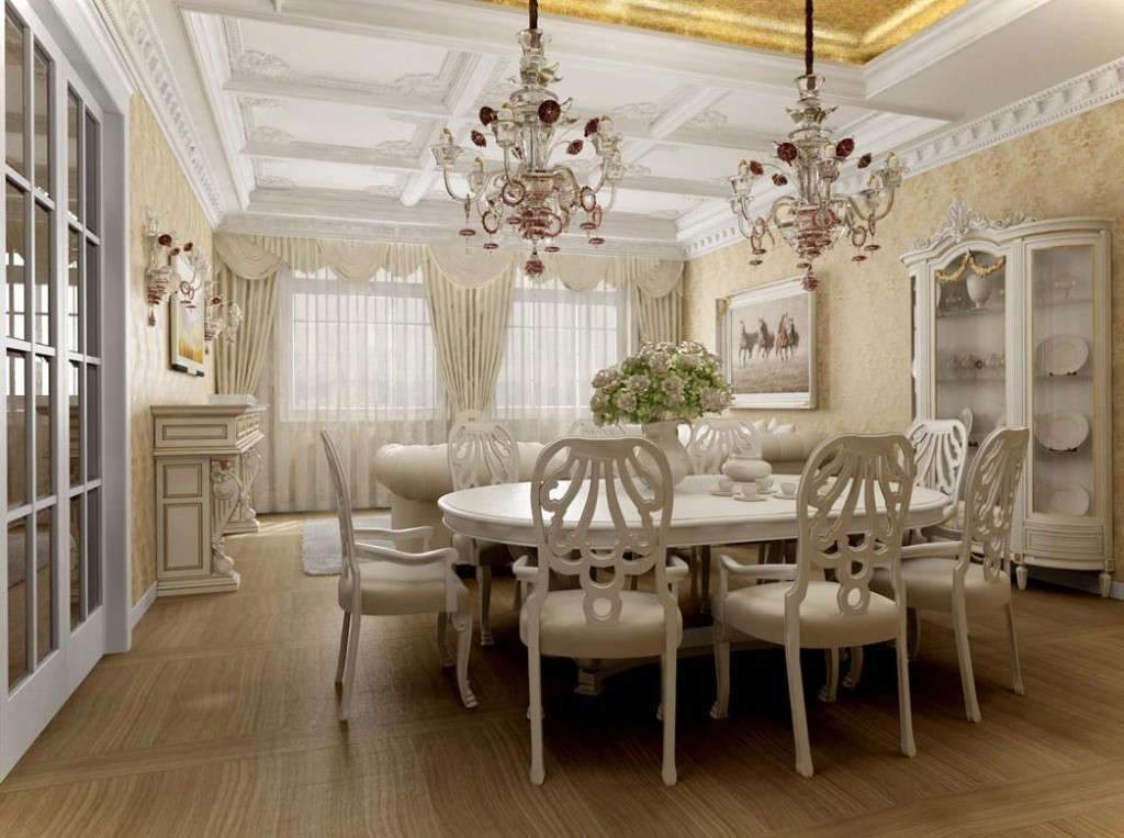chandelier-in-dining-room-remodeling-home-ideas