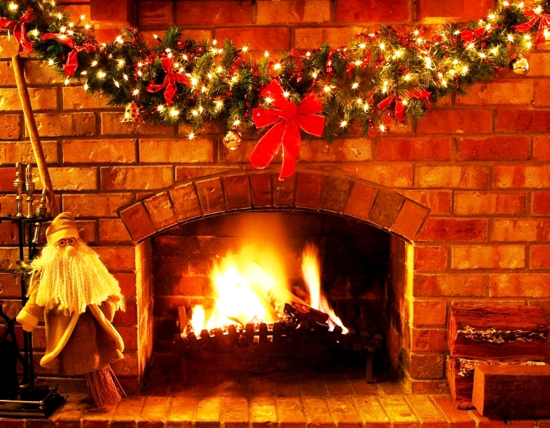 christmas-fireplace