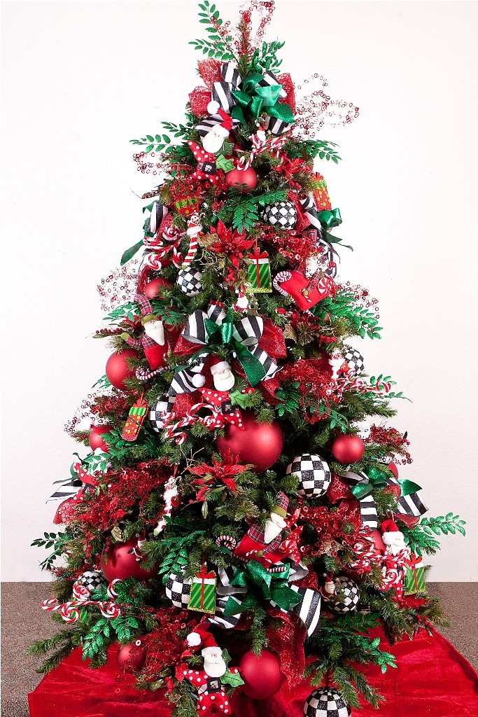 christmas-tree-decorations-ideas-modest-design-25-on-home-decor-ideas