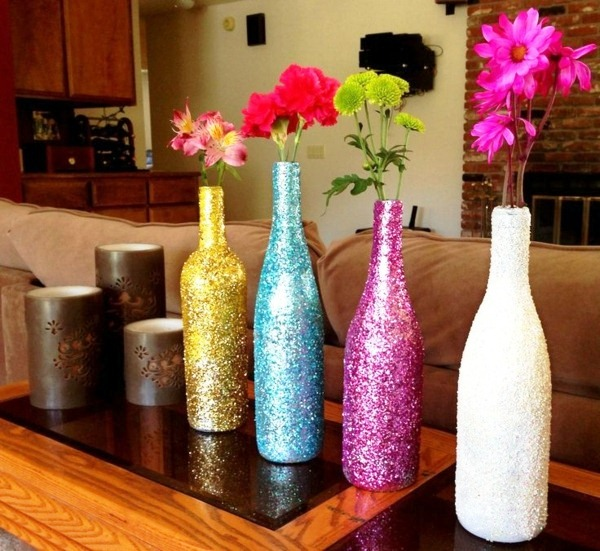 Decorations For A Halloween Party: 10 Beautiful DIY Vases Design Ideas