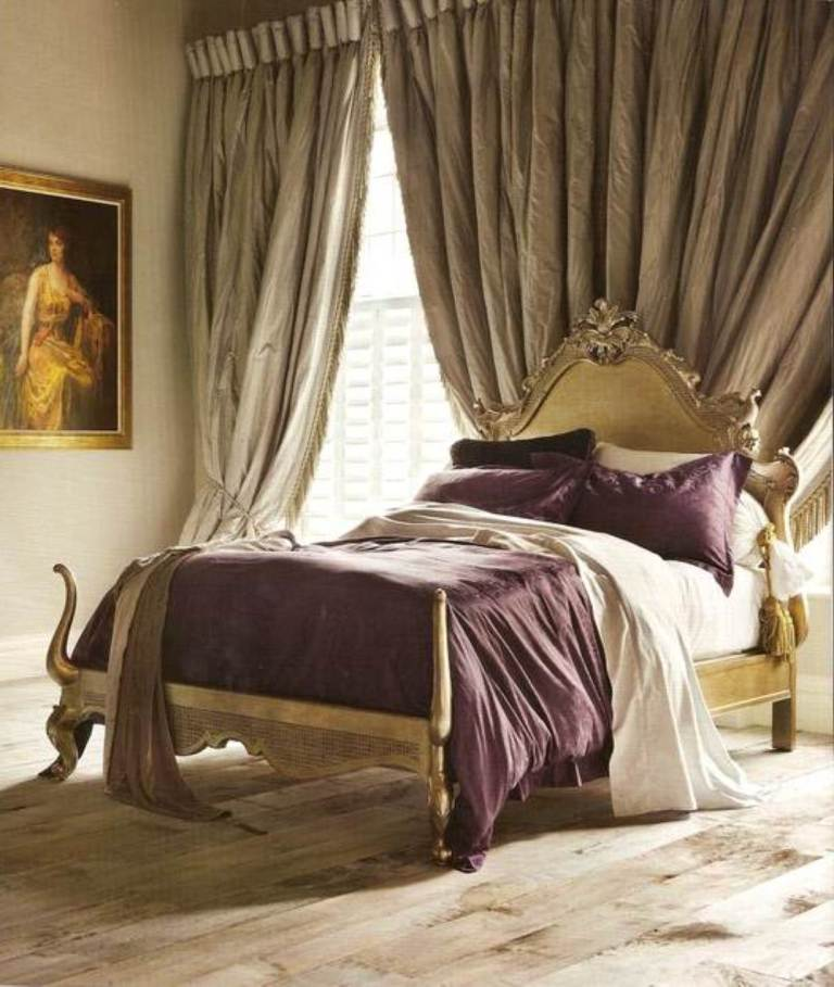 decoration-ideas-bedroom-interior-endearing-purple-comforter-bedding