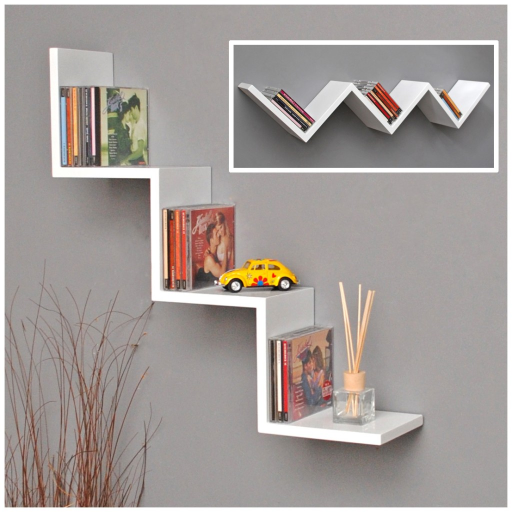 fascinating-lounge-shelf-zigzag-design