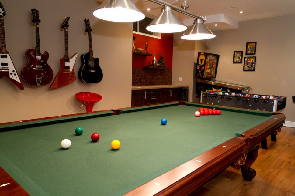 23 game rooms ideas for a fun filled home. Black Bedroom Furniture Sets. Home Design Ideas