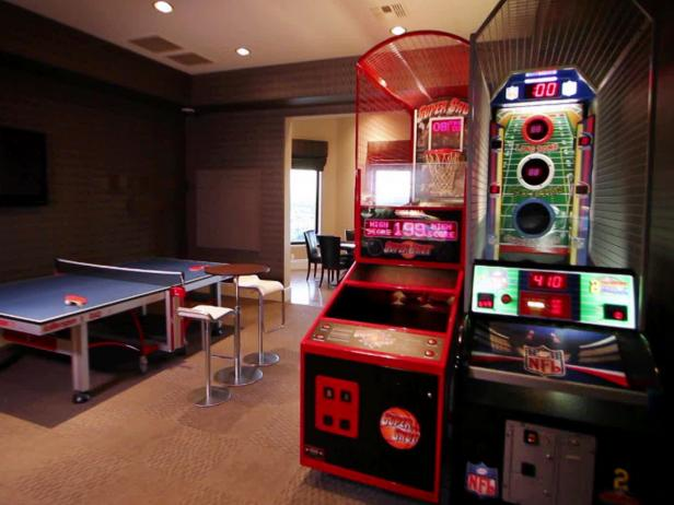 23 game rooms ideas for a fun filled home for Game room design ideas