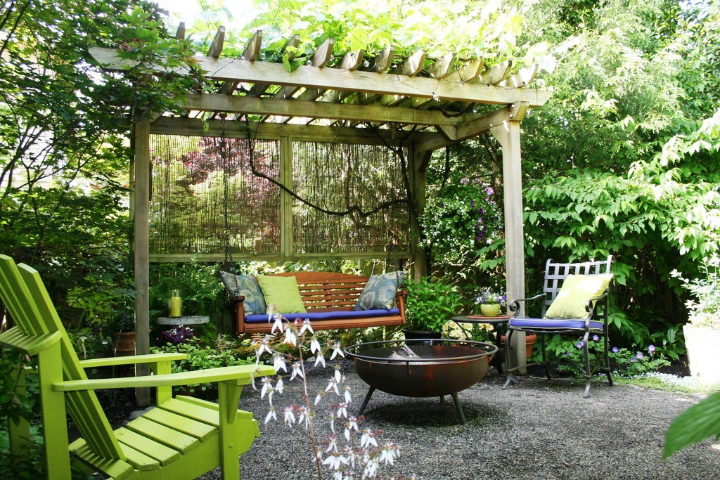 grape arbor ideas patio