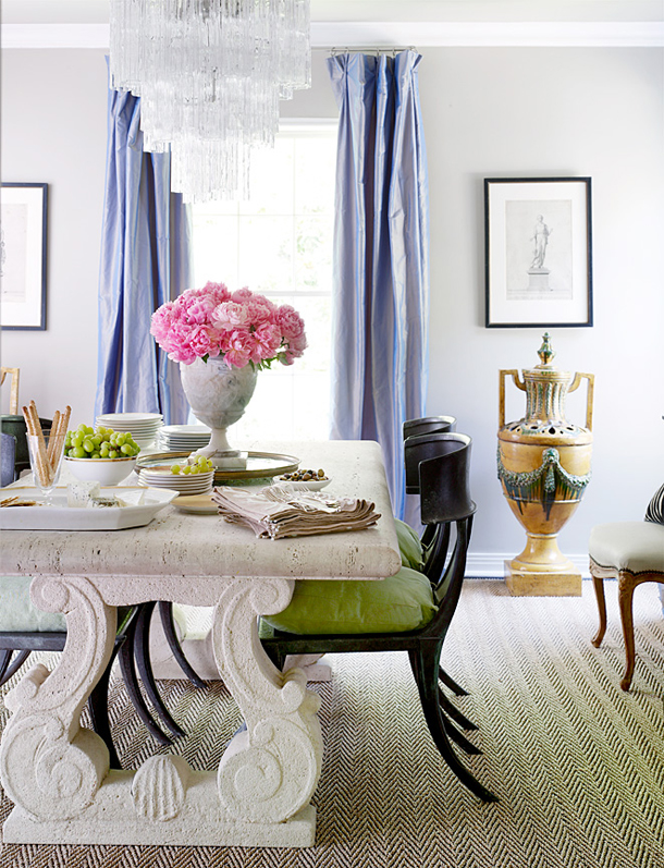 gray-moder-cool-living-room-design-purple-silk-curtains-drapes