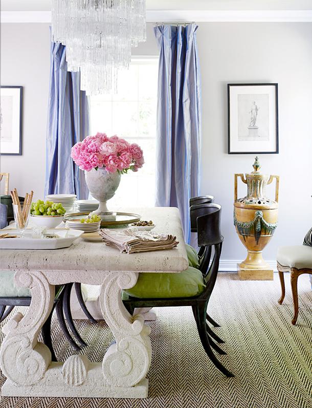 gray-moder-cool-living-room-design-purple-silk-curtains-drapes