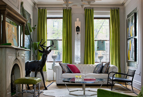 kelly-green-silk-curtains-