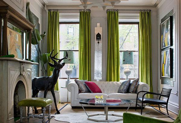 kelly-green-silk-curtains-