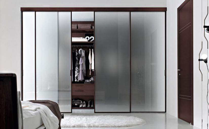 luxury-walk-in-closet-with-blurred-glass-sliding-door-mixed-stunning-master-bedroom-ideas