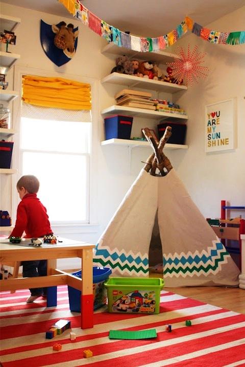 my-growing-home teepee ideas