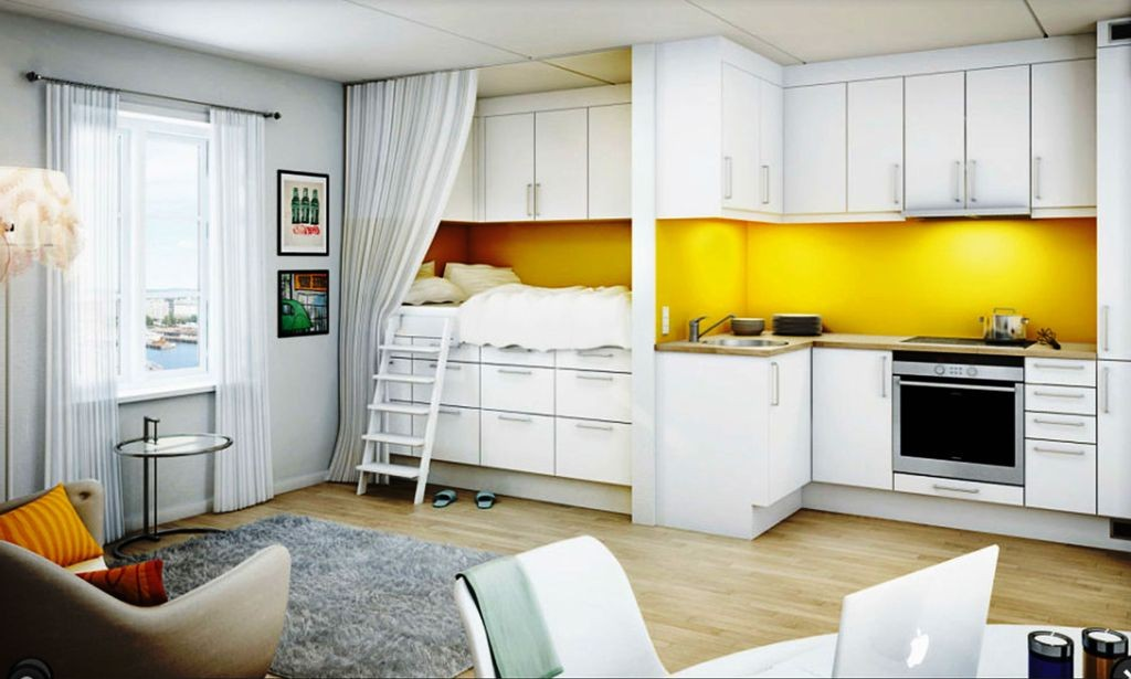 Studio Apartment Design Ideas Ikea All In One