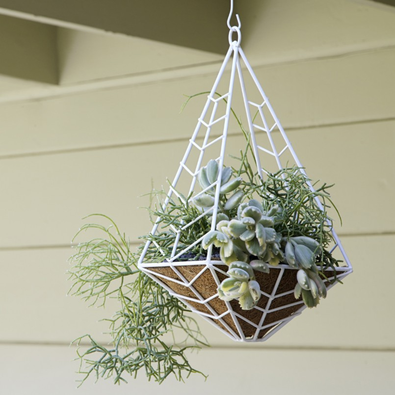 white-metal-and-wood-Hanging-Planter_outdoor-