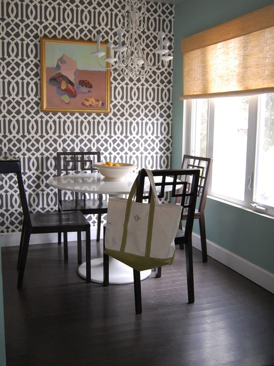 25 Amazing Wallpaper For Your Beautiful Dining Room