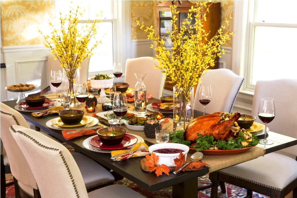 Fall Dining thank giving