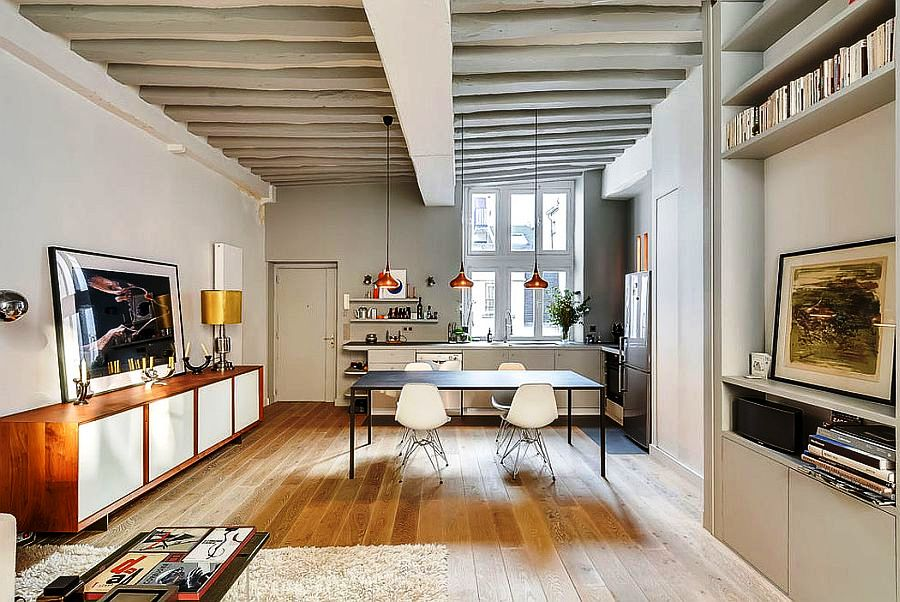 Open-plan-living-area-with-dining-space-and-kitchen