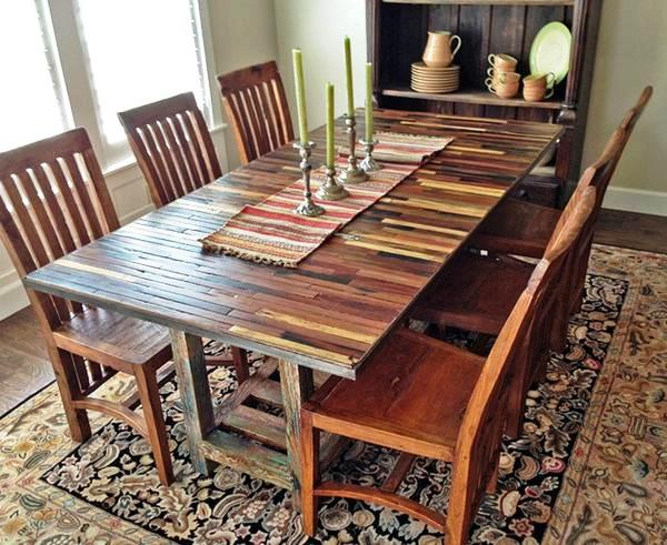Reclaimed-Wood-Dining-Table-Design