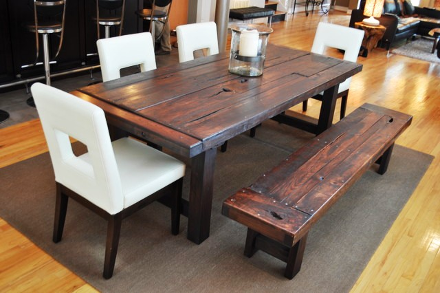 eclectic-reclaimed-wood-dining-table