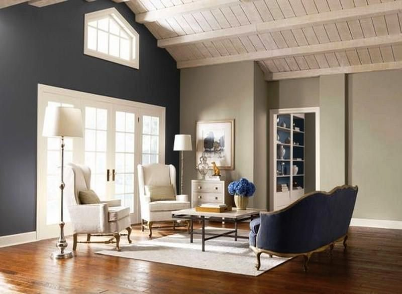 Living Room Paint Color Ideas Accent Wall Ideas