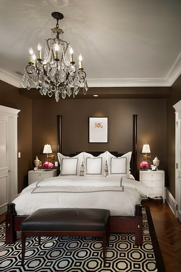 Traditional-Brown-Bedroom-Color