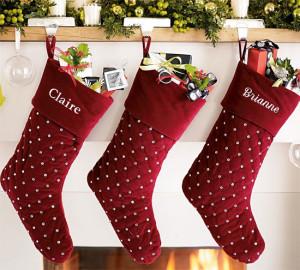 35 Cool Christmas Stocking Decoration Ideas