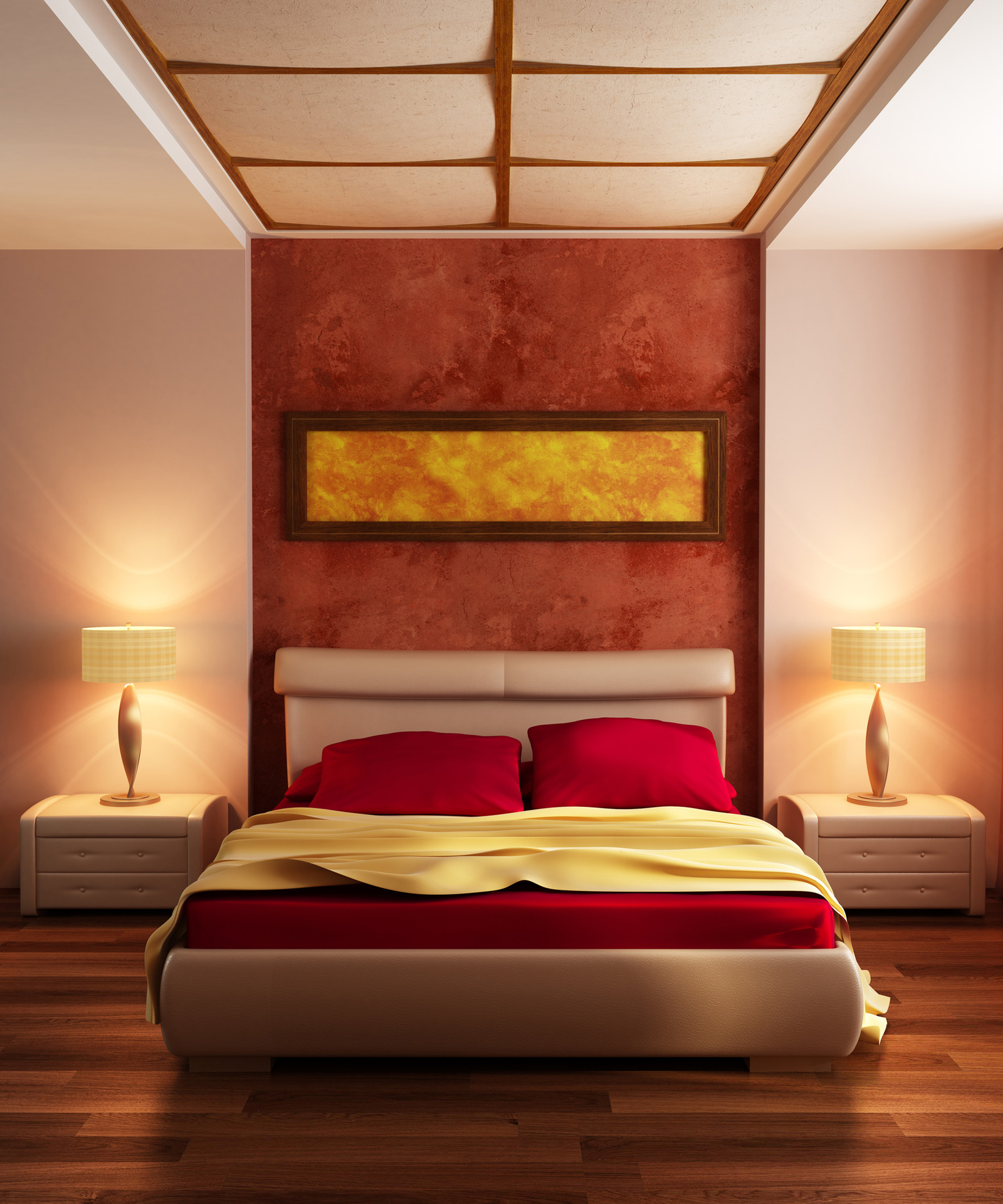 Red Room Color Schemes red-bedroom-color-ideas