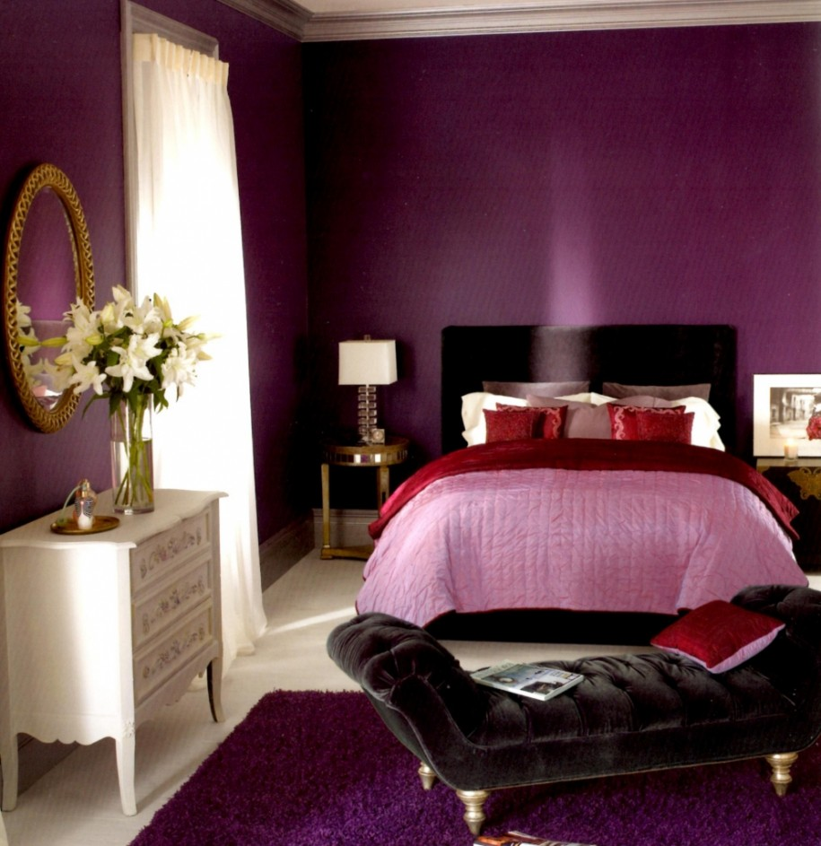Romantic Bedroom Color Schemes: 25 Sophisticated Bedroom Color Schemes Ideas