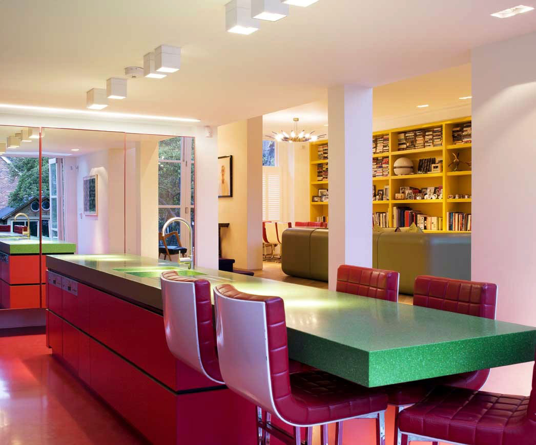 Colorful-Dining-Room-Colors-With-colorful-dining-talbe-design