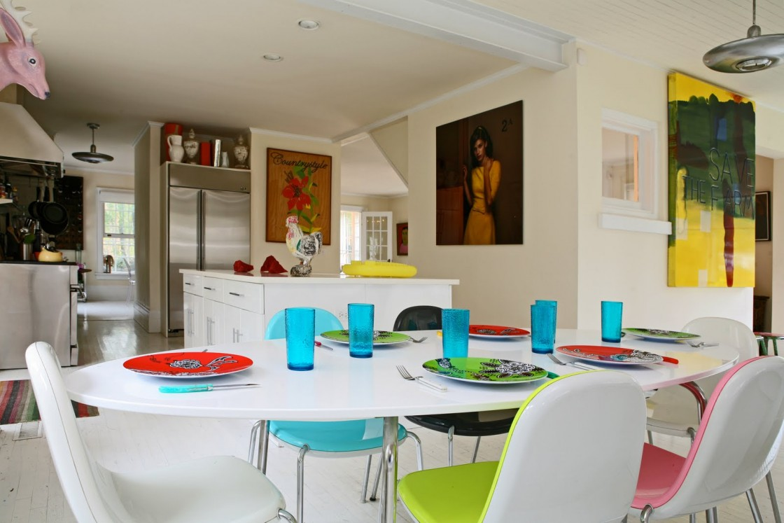 colorful kitchen table sets 25 trendy bright and colorful dining area 5574