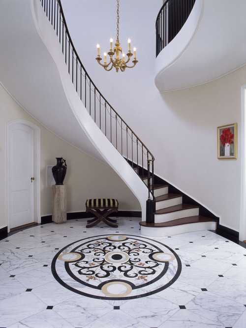 Marble Floor Home Design