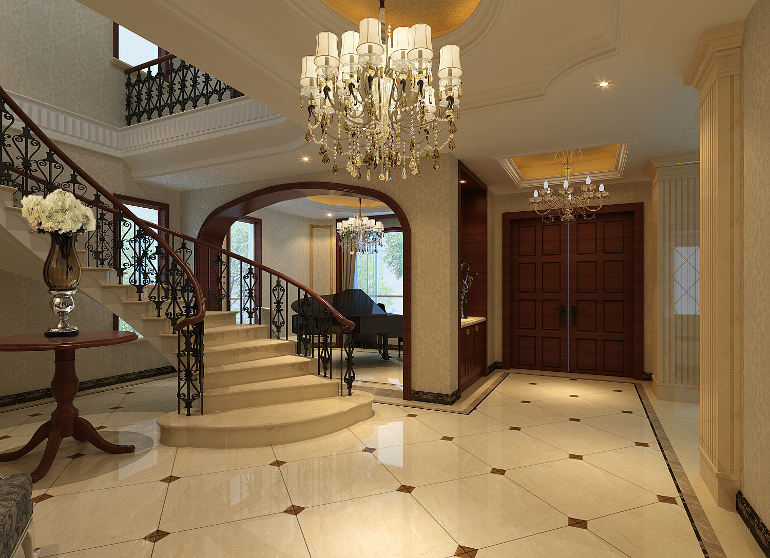 Marble Floor and wall