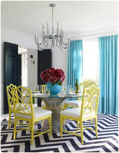 trendy-colorful-dining-room