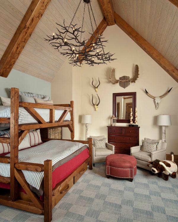 Compact boys' bedroom