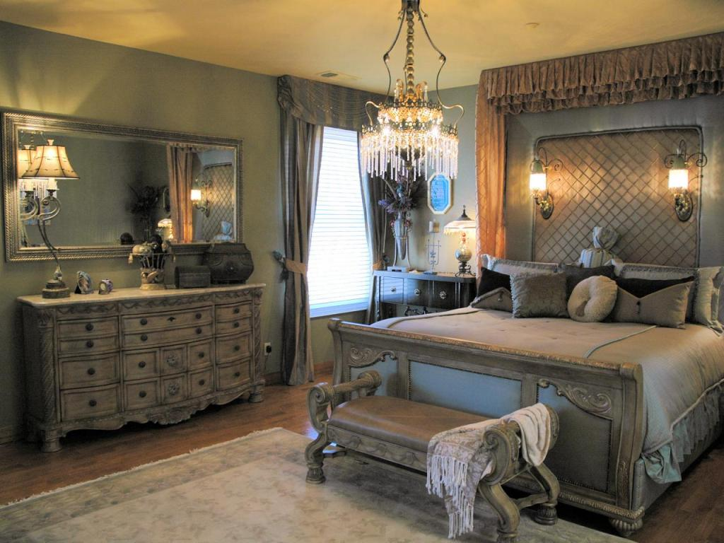 51 luxury master bedroom designs 16088 | elegant gold bathroom with mirror wall