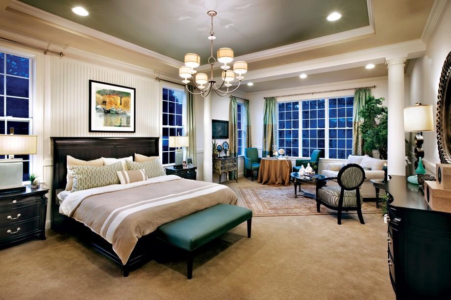 Luxury Villa Master Bedroom